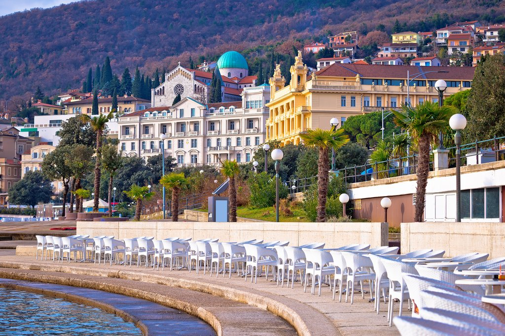 Ellegent belle-époque resorts in Opatija