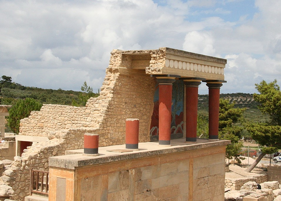 Terrace at Knossos
