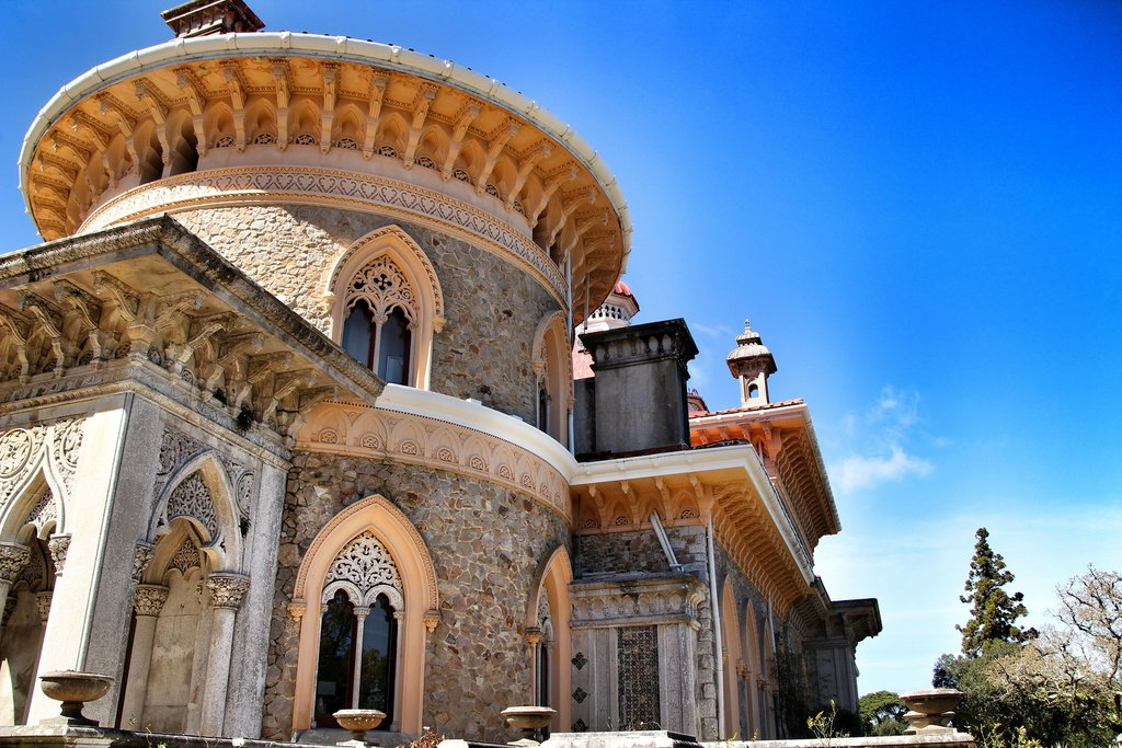 Stunning design of Monserrate Palace