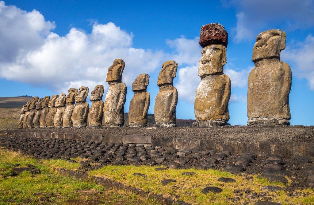 Ahu Tongariki, Easter Island