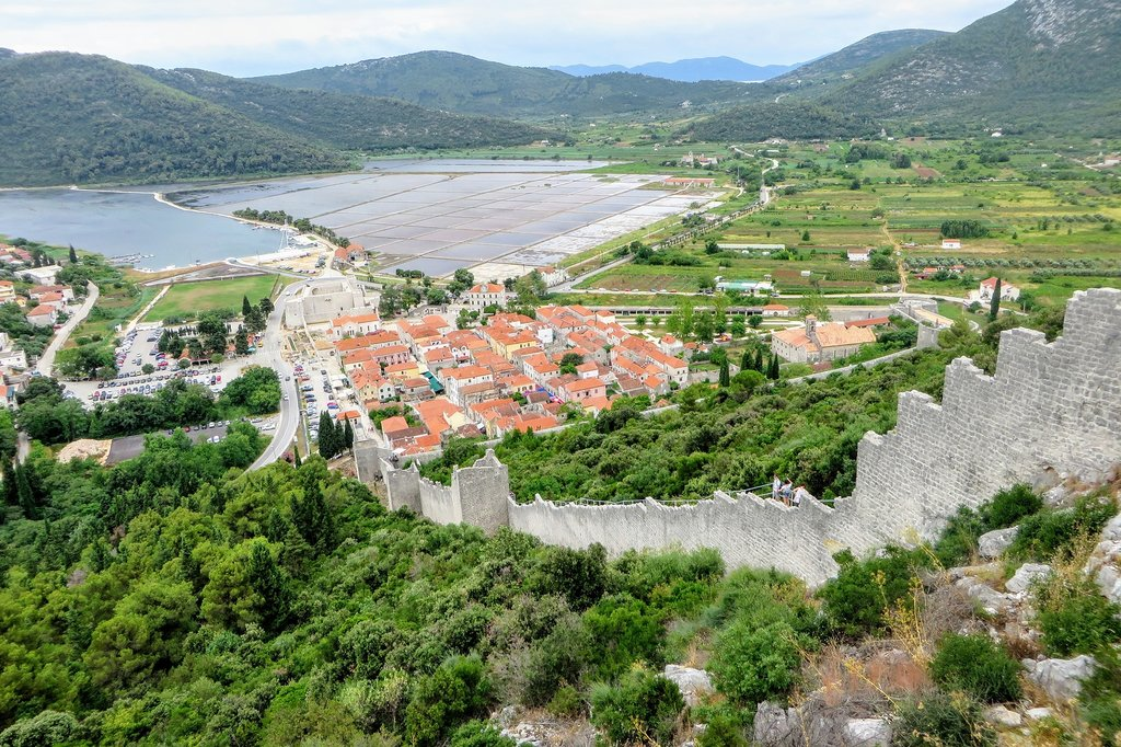How to Get from Trogir to Ston