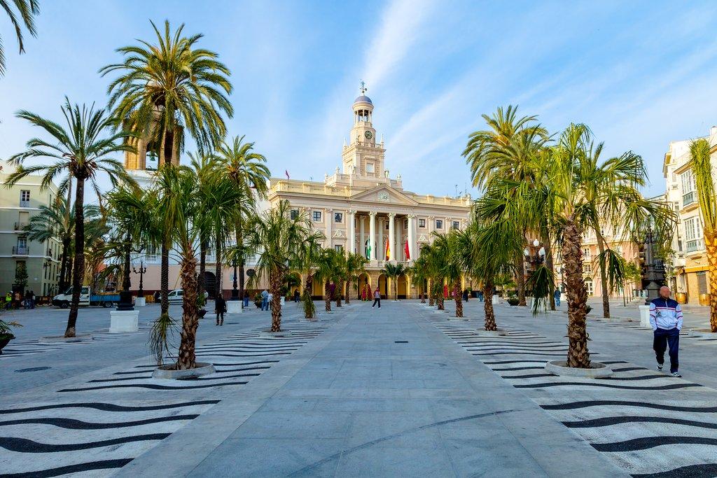 The City Hall of Cádiz
