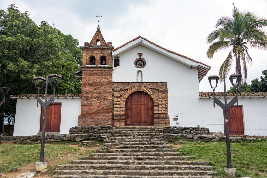 Colombia - Cali - San Antonio church