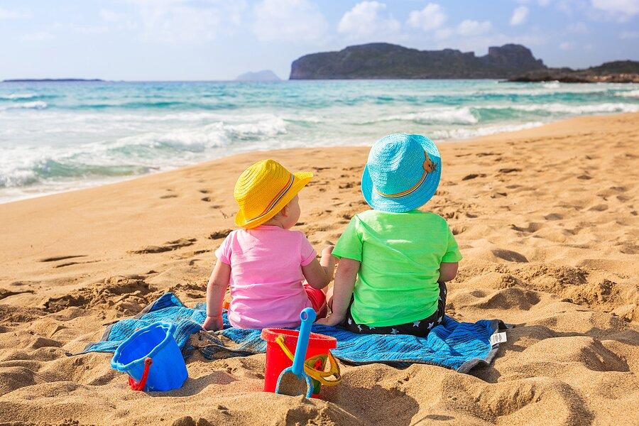 Enjoy the beaches of Crete