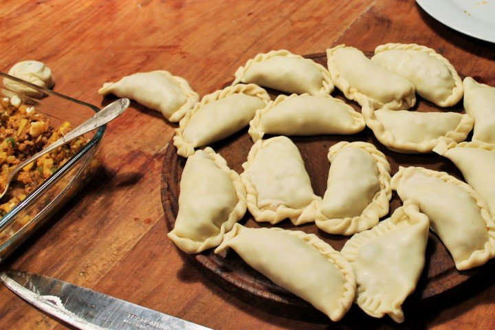 Argentinean empanadas which you will prepare