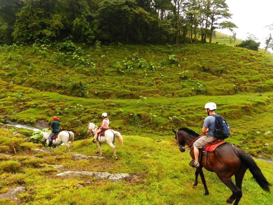 Horseback Riding in Bajos del Toro