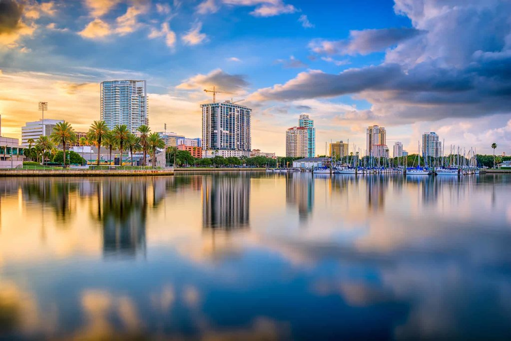 St Pete Waterfront, courtesy of Tampa Real Estate Insider