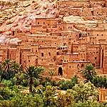 The kasbah at Aït Benhaddou