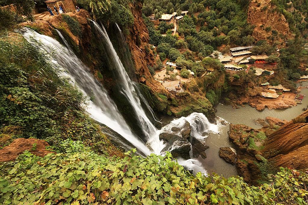Cascade D'Ouzoud, Morocco
