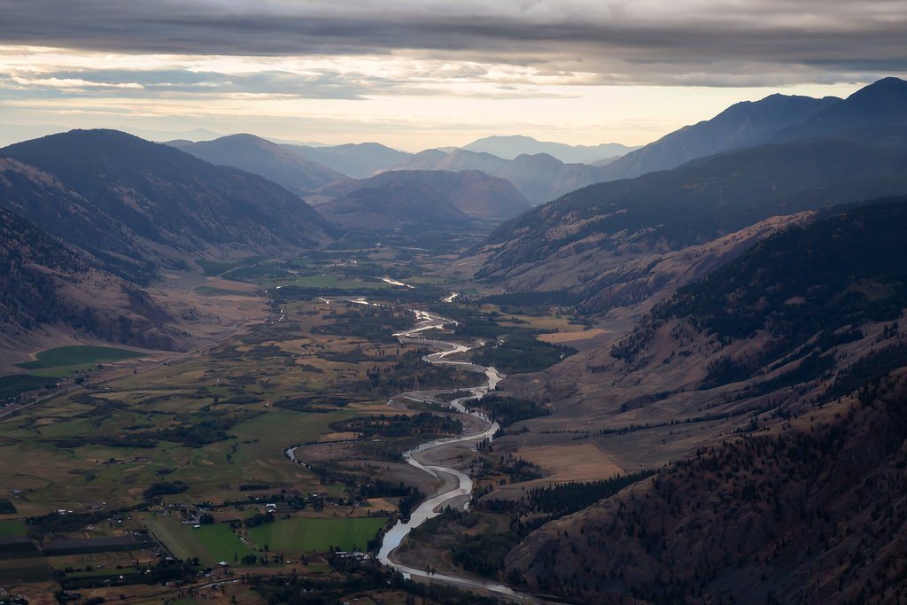 Similkameen River near Keremeos
