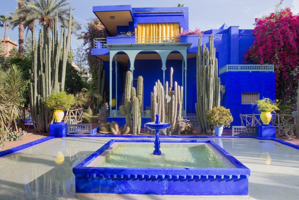 Marrakesh, Majorelle La villa