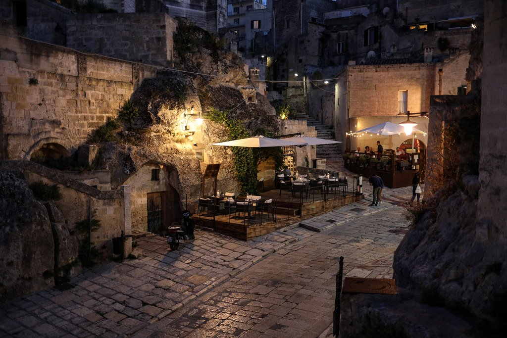 Modern Life in Matera's Ancient Sassi Caves