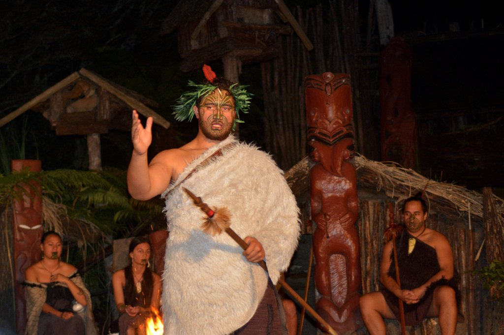 Learn about the indigenous people at Tamaki Maori Village