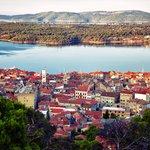 The Ancient city of Sibenik