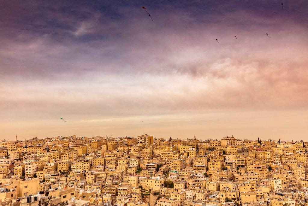 Views over Amman