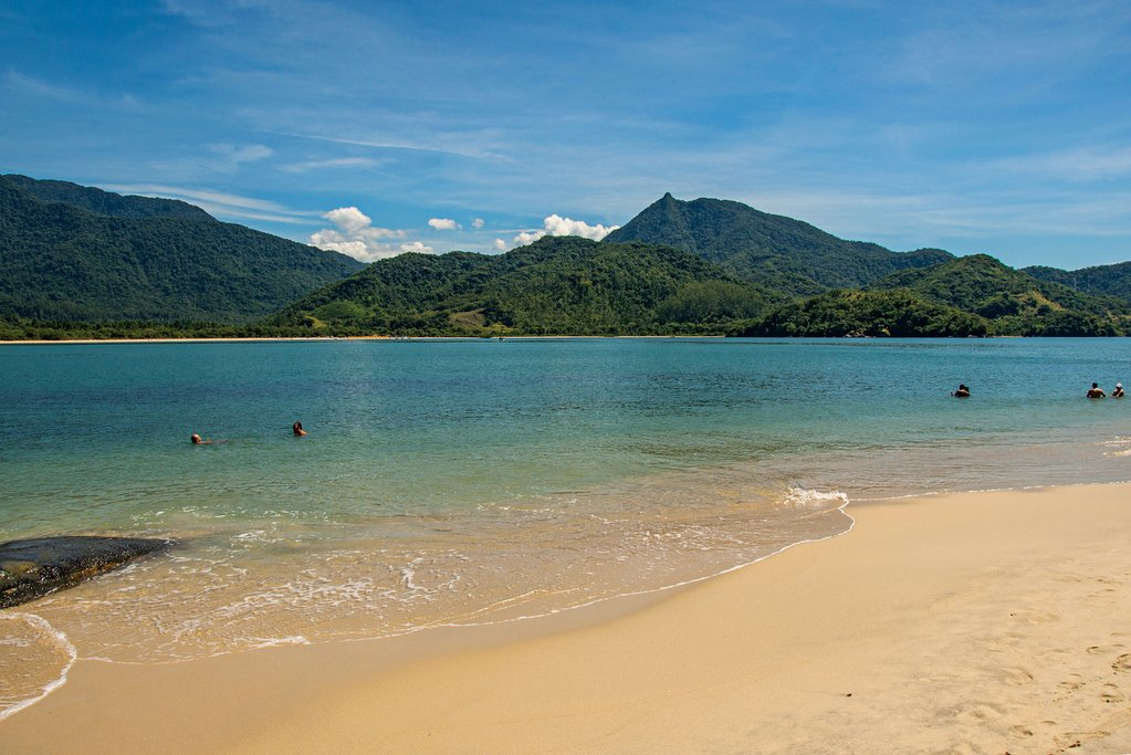 View of the mountains outside of Paraty