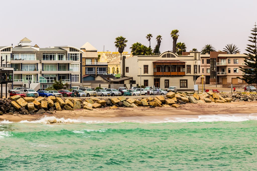 Welcome to the seaside town of Swakopmund!