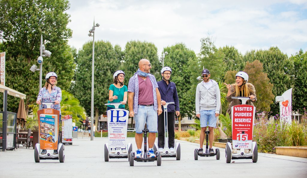 Segway tour in Caen