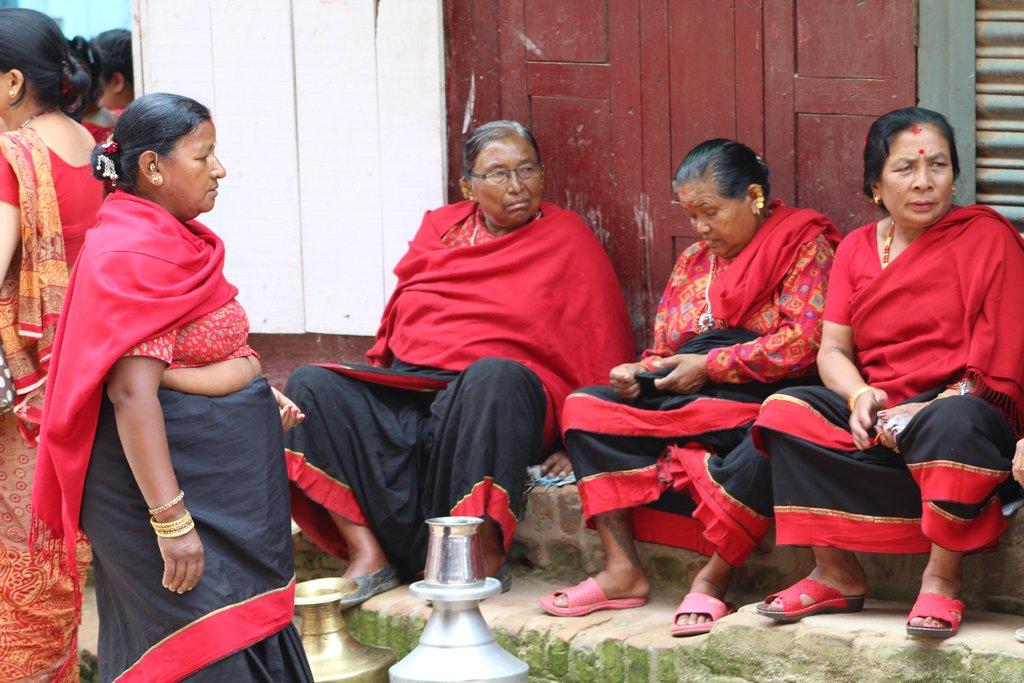 Local Newari Women