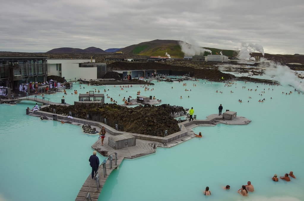 The Blue Lagoon is a fun and relaxing activity before a long flight