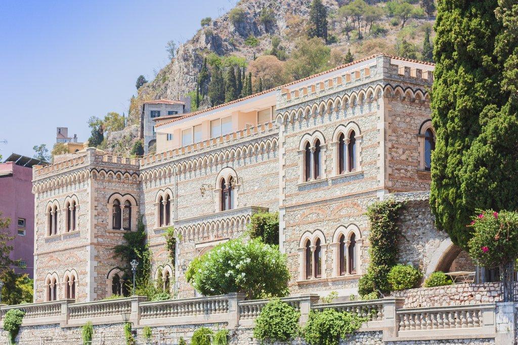 Italy - Sicily - Taormina - 10th-century Palazzo Corvaja