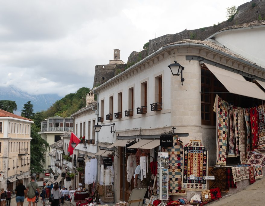 The Souvenir Shops of Gjirokaster, Albania