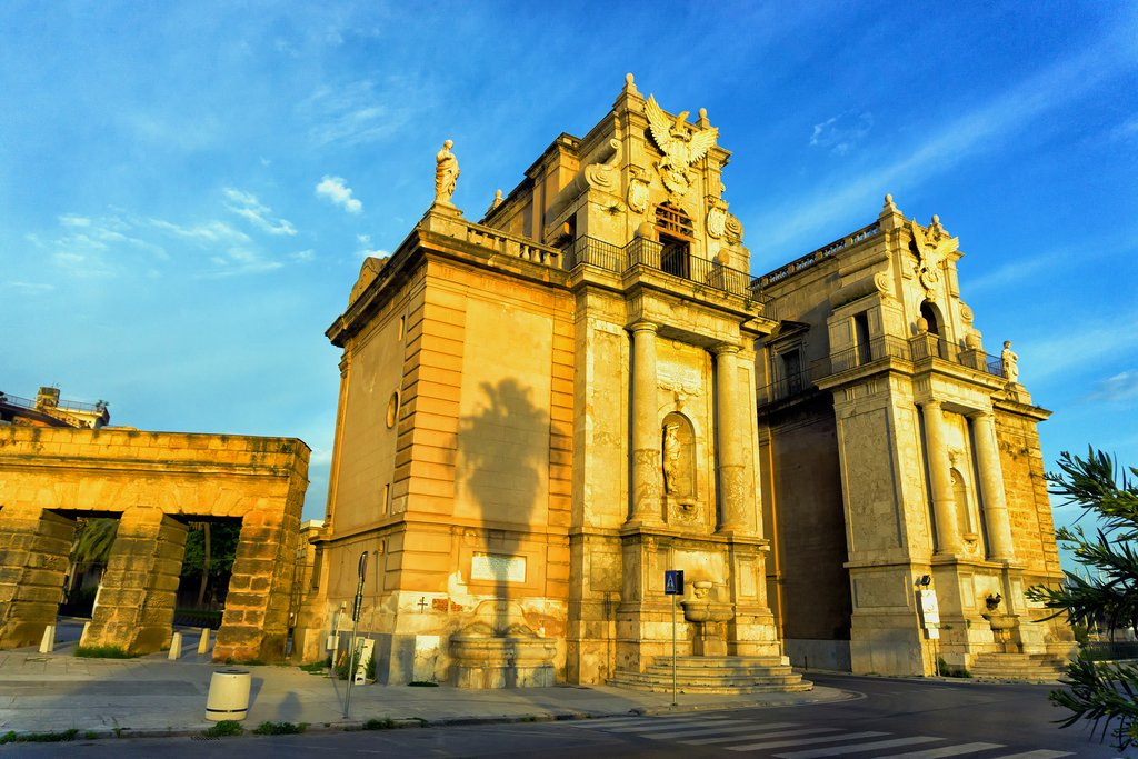 The Porta Felice, Palermo