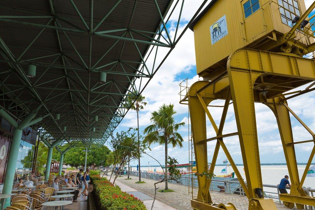 Estação das Docas, a gastronomy hotspot in Belém