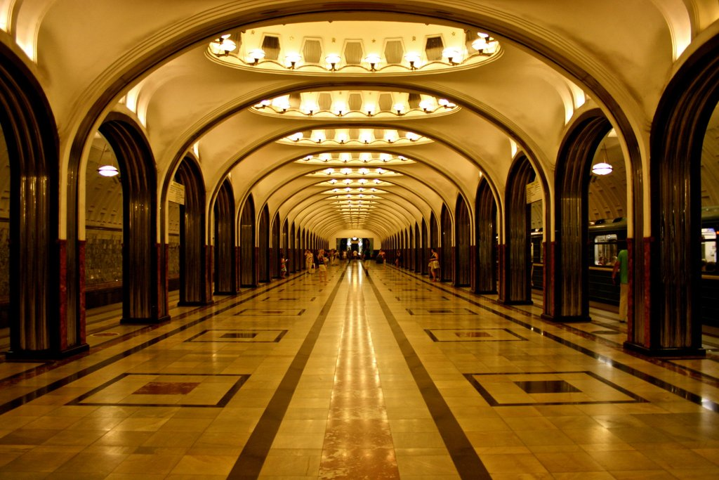 One of Moscow's unforgettable Metro stations - Photo by Ivana Mednansky
