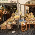 Limoncello for sale in Amalfi