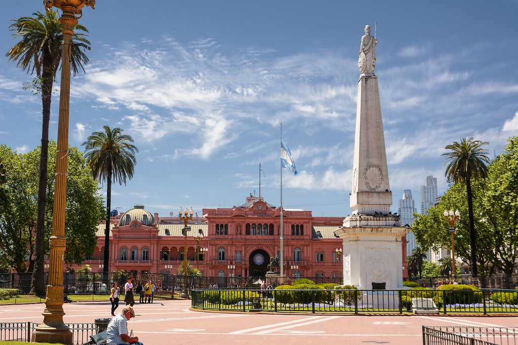 Casa Rosada - office of the president of Argentina