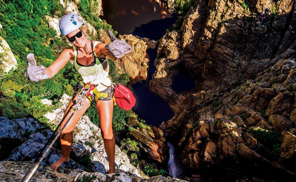 Adventure day at Steenbras River Gorge