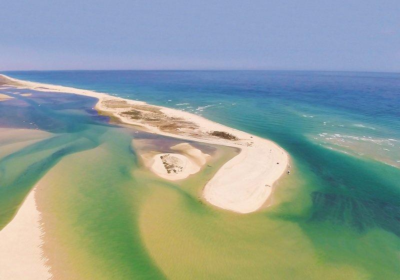 Ria Formosa lagoons