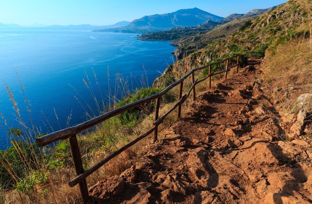 Coastline Trail, Zingaro Nature Reserve, Sicily, Italy
