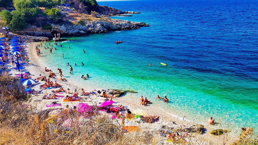 Colorful Beaches of Greece