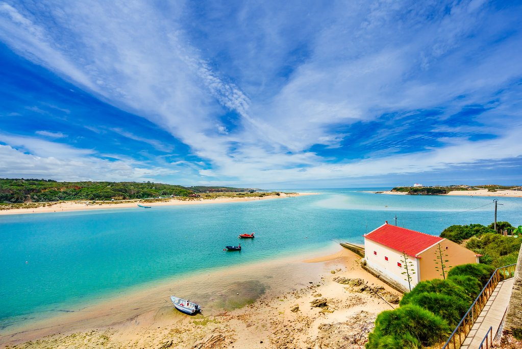 A stunning view in Vila Nova de Milfontes