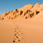 Moon & Death Valley topography