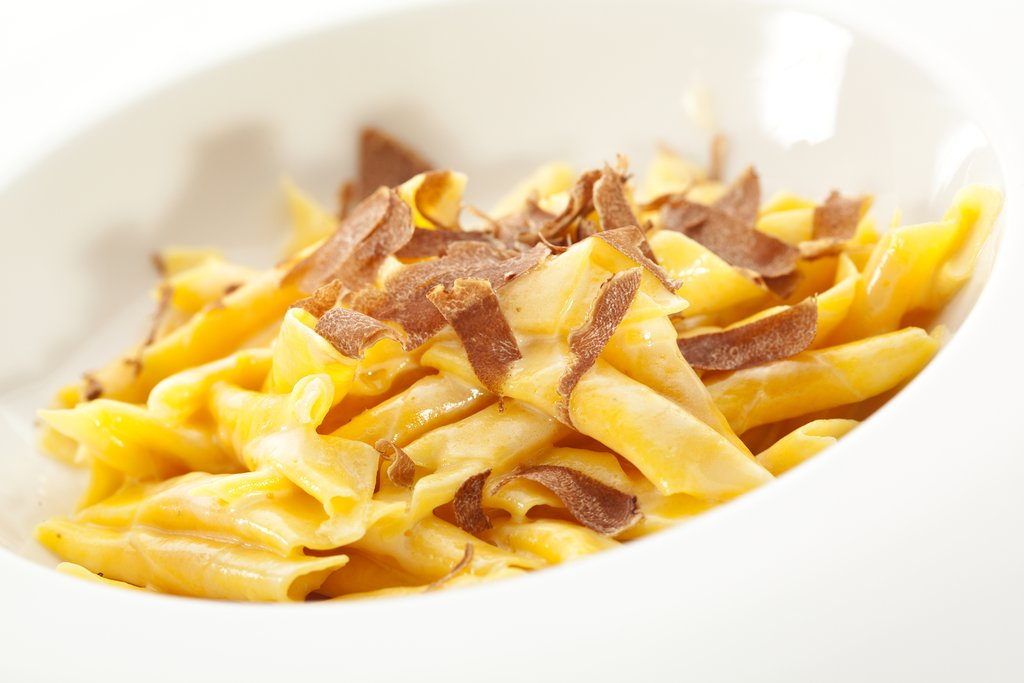 Istrian pasta with truffles