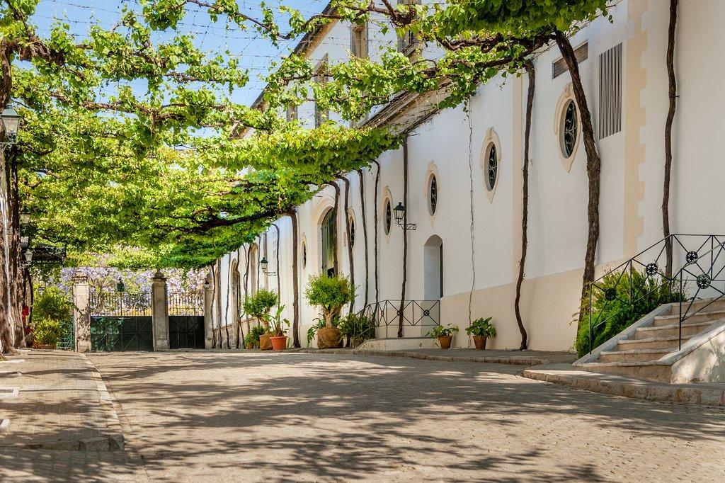 Spain - Jerez - Outside the Tio Pepe Bodega