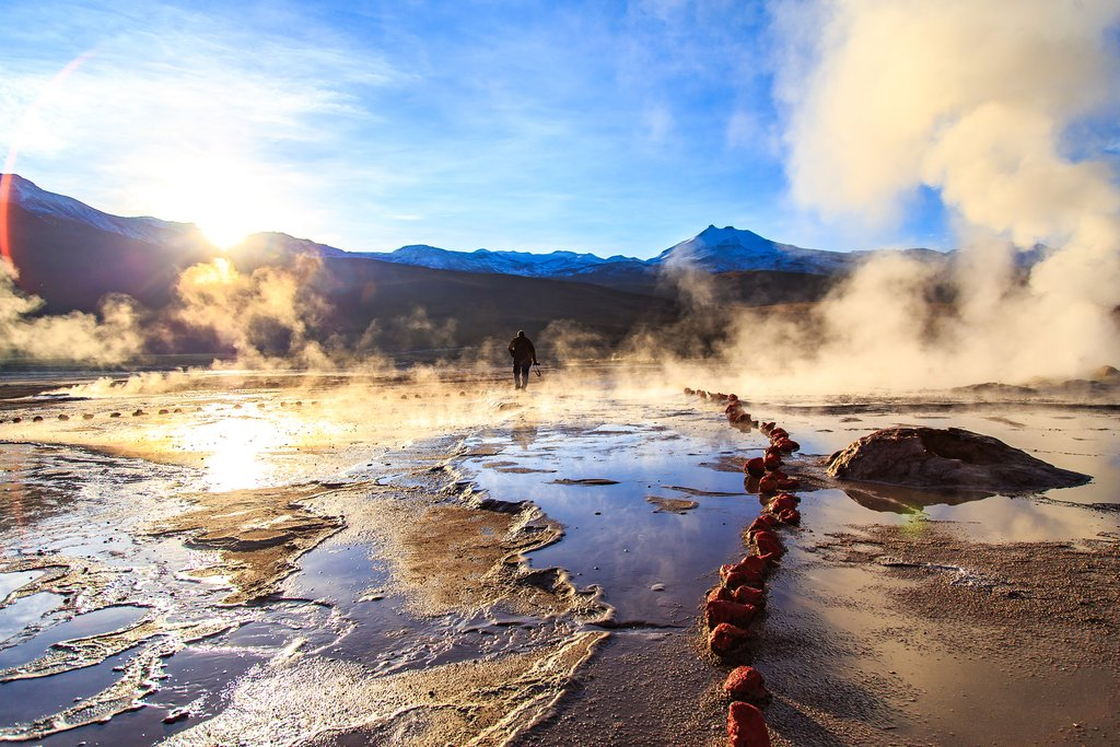 Tatio Geyser in Atacama
