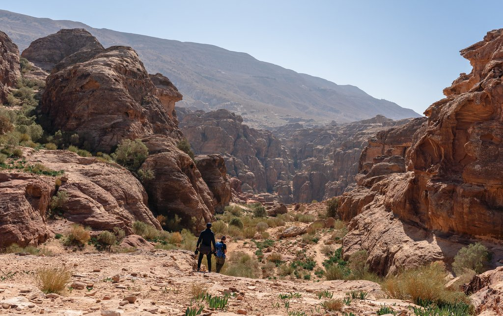 Jordan - Hiking in Petra area