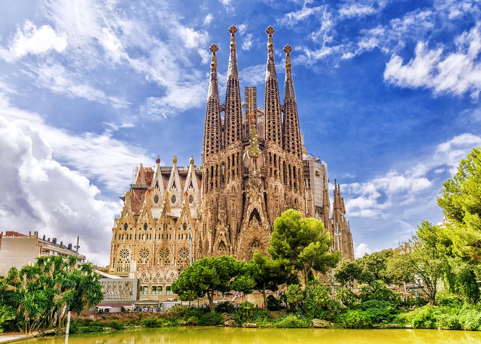 The gothic-modernist marvel that is the Sagrada Familia