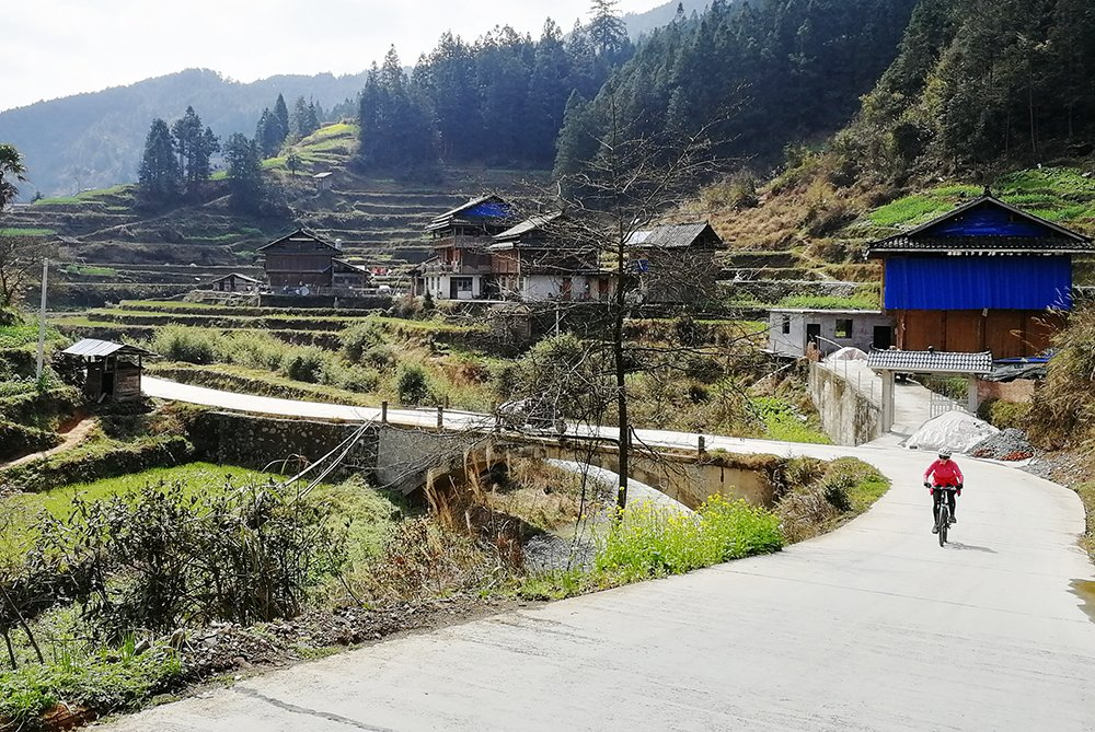 Bike through the Villages where Minority Chinese Lives