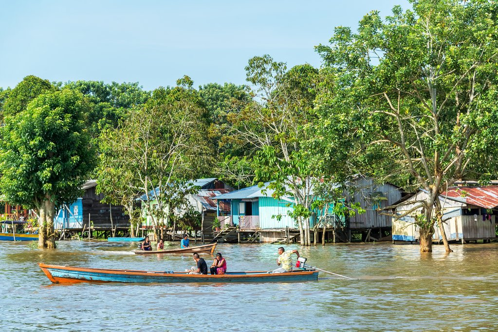 Life on the Amazon River in Leticia, Colombia