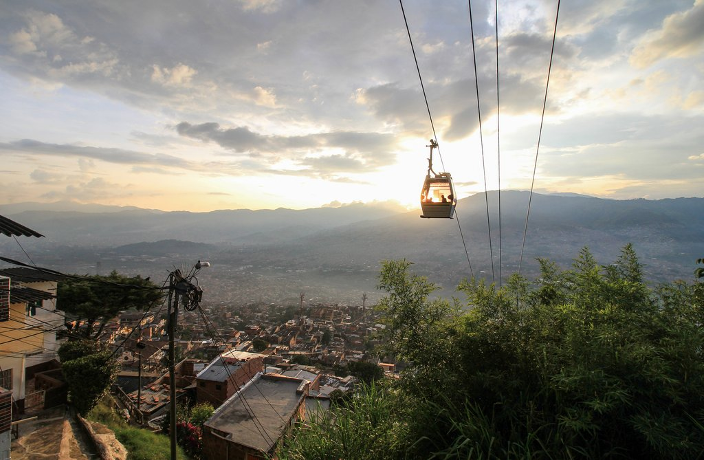 cable car, Medellin, Colombia