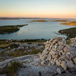 Kornati Islands at sunset