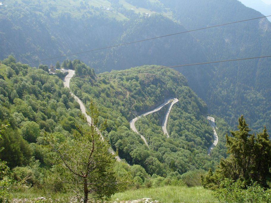 Careful on your descent from Alpe d'Huez!