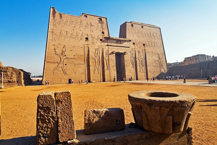 Horus Temple in Edfu, Egypt