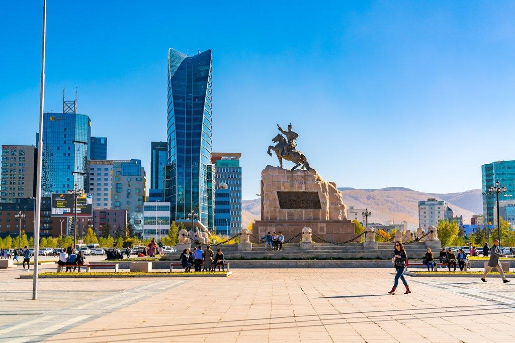 Genghis Khan Square, Ulaanbaatar