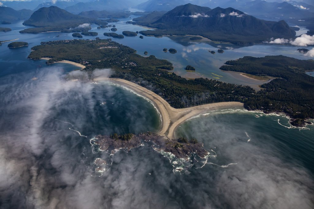 Vancouver Island's Long Beach on the Esowista Peninsula